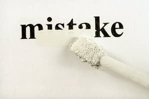 mistakes that do not hurt you credit score