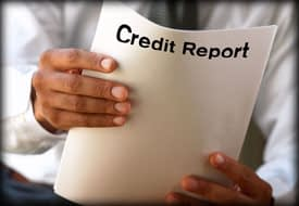 run credit report without permission
