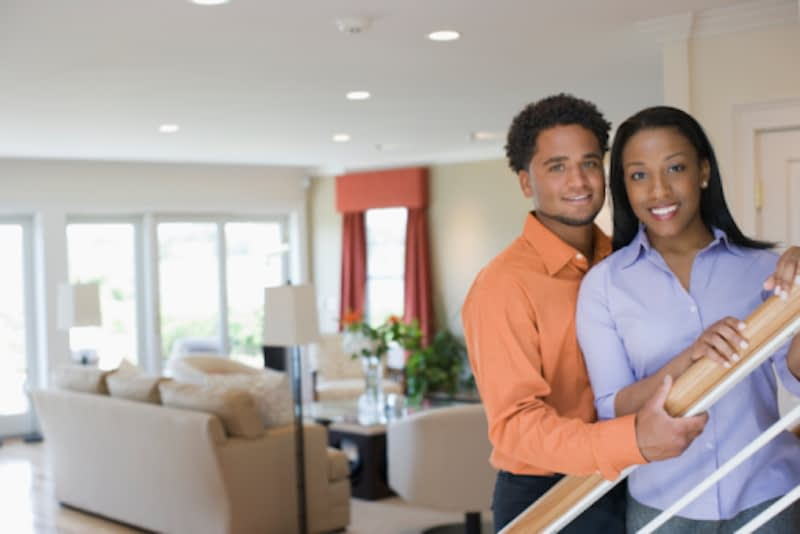 Black-couple-at-home