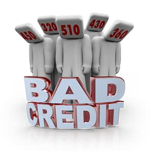 what is making your credit bad
