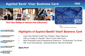 business credit card for bad credit