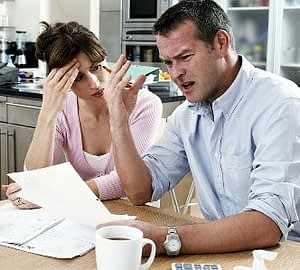 delinquent account purchased over and over again by debt collectors