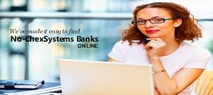 Find No-ChexSystems Banks Online