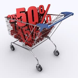 reduce debt by bargain shopping